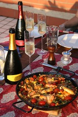 Cava and Paella