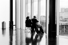 lovers (manuel cristaldi) Tags: leica city greatbritain travel windows light england people blackandwhite bw reflection london film museum 35mm mirror blackwhite chair gallery noiretblanc tate parquet trix lovers bin tatemodern galleries british museumoflondon ashcan blueribbonwinner schwarzweis lifeinblackandwhite 10faves rdlaing greatpixgallery10faves blackandwhitephotoaward manuelcristaldi 10faves123 artsintheukbritishfineartsfineartphotographygroup adeuxbetwo ©manuelcristaldi view1250 elinstanteysuhistoria