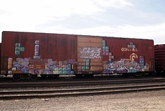 Tetris 1 03-07 (Seetwist) Tags: railroad art train bench graffiti colorado paint grafitti tag trains denver spraypaint boxcar graffito graff gameover piece aerosol tetris railfan freight trainspotting freights trainart fr8 rxr railart e2e benching trainspot boxcarart denvertrainart seetwist seetwistproductions