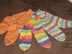 3 pairs done!