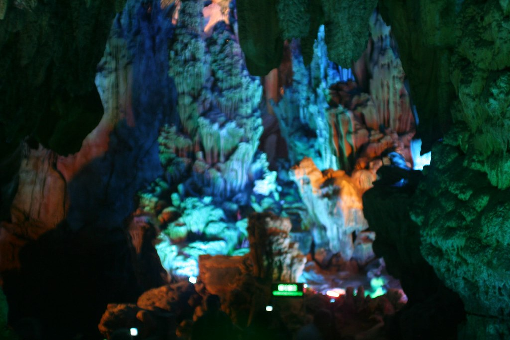 Reed Flute Cave Near Gulin