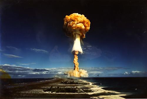 Impresionantes Fotos de Explosiones Nucleares