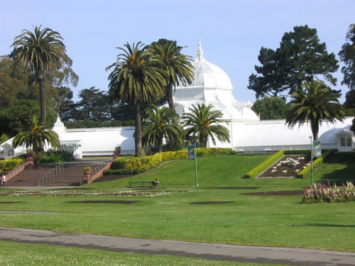 Bay to Breakers - Conservatory of Flowers