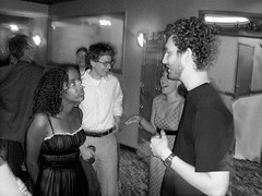 Engagement party (John Althouse Cohen) Tags: andy wisconsin peach madison ari engagementparty haben