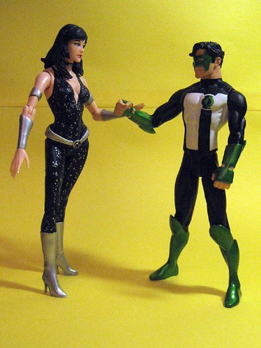 Donna Troy and Kyle Rayner