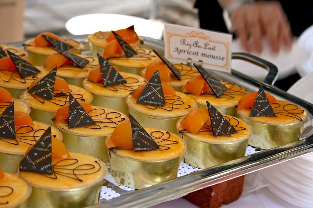 Riz Au Lait Apricot Mousses