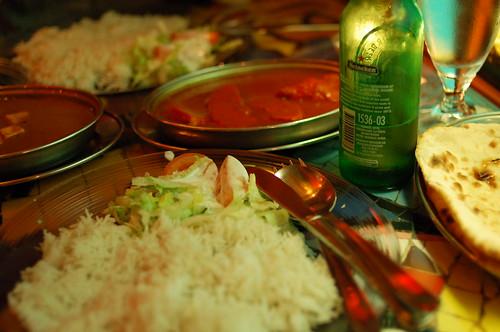 晩御飯のカレー