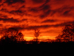 P1040343 100% Unworked 100% Unbearbeitet (Wallus2010) Tags: himmel sonne sonnenuntergang grosmoor germany panasonic tz61