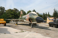 Hellenic Air Museum, Tatoi-Dekelia Convair TF-102A Delta Dagger (modly) Tags: museum haf