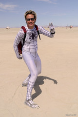 White Spiderman