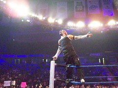 Jeff Hardy On The Ropes