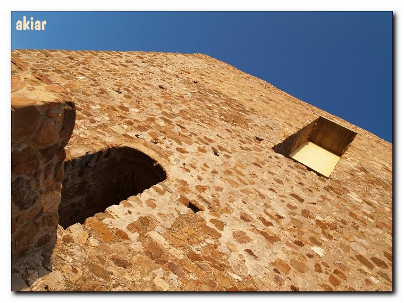 Entrada al Castillo de Bélmez.