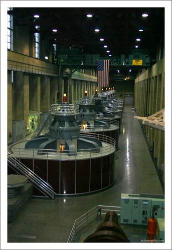 Power Generators at Hoover Dam