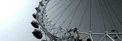 Wheel (m1ke_pearce) Tags: blackandwhite london wheel londoneye ferris balondoneye monkey:group=architecture