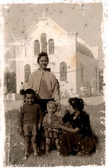A long time ago in Greece (p may) Tags: family church vintage greek greece crete orthodox naughtyboy lefteris early60s pmay