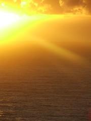 Sunrise From Cape Byron Lighthouse7 (Monique Barber) Tags: ocean sunset sea sky sun water clouds sunrise australia byronbay capebyron