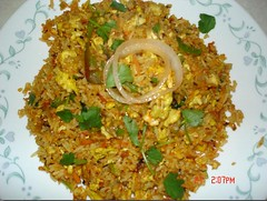 Scrambled Egg Biryani(Fried Rice)