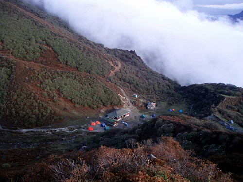 Our camp from the viewpoint