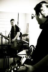_DSC0060 (Siggidóri) Tags: music students studio drums raw nef bass guitar recording lightroom electricbass recordingsession bassi gítar adobergb hljómsveit nemendur upptökur trommur hljóðver musicstudents samspil tónlistarskólireykjanesbæjar grayscalemonotonebwsepiasplittoning