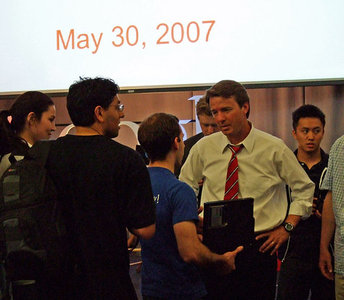 John Edwards and Fans