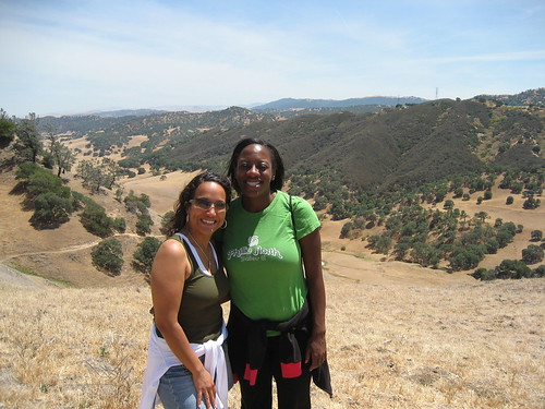 Bern and Bola hiking at Black Diamond Mines
