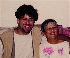 With mom the year before she passed