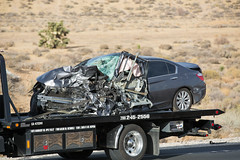 Fatal Head on Collision in Hesperia (gabrieldespinoza) Tags: car accident victorville hesperia pedestrian news vvng victorvalleynews