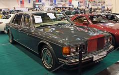 Silver Spur II (Schwanzus_Longus) Tags: essen motorshow motor show german germany old classic vintage car vehicle uk gb england english great britain british sedan saloon gray grey rolls royce silver spur ii 2