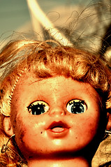 SARA JESSICA PARKER peaks peaks (bikriderstar) Tags: girl face portraits doll jessica parker bikriderstar