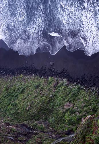 Am Rande des Meeres