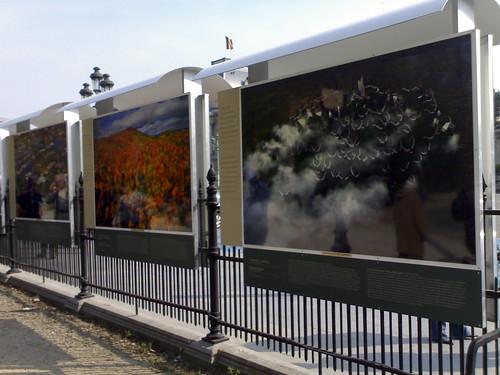 Tentoonstelling Paleizenplein - foto Peter Forret