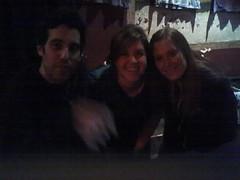 Joshua Radin, Me, and Schuyler Fisk