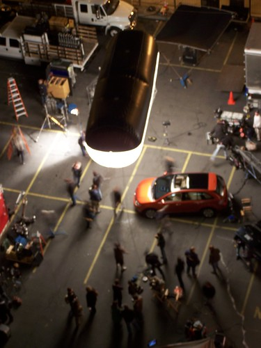 CU - car commercial night shoot
