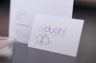 New Duoh! logo & stationery