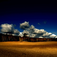 Shadow (Olli Keklinen) Tags: sky field clouds photoshop suomi finland square landscape nikon scenery searchthebest 100v10f d200 2007 naturesfinest supershot ok6 platinumphoto 20070411 ollik
