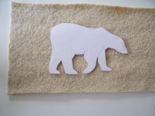 bear stencil