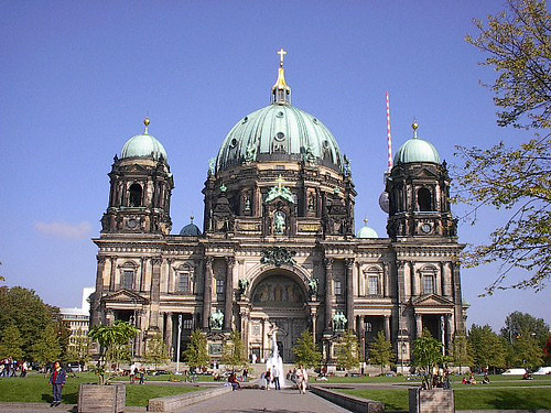 berliner dom. one of many many churches i saw in europe.