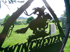 Winchester Rifle - Alpine Cemetery