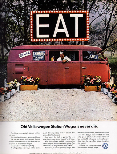 1960s Advertising - Magazine Ad - Volkswagen 1 (USA) / Daniel Yanes Arroyo