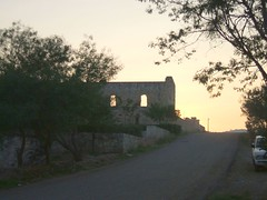 Dominican convent at sunrise