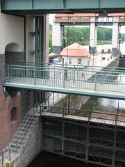 Blick auf den Oberlauf des Teltowkanals