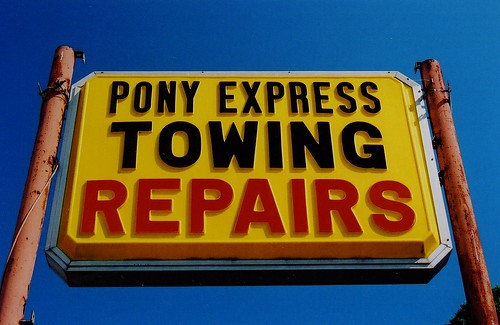 Express Towing...Pony, That Is