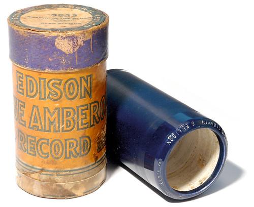 Edison Blue Amberol Phonograph Cylinder 1918