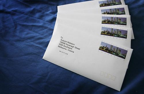 Envelopes by Audunn @ Flickr