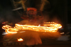 sparkling power (MOHAMED A.) Tags: light india color colour festival canon religious fire folkart kerala temples ritual kavu perfomance theyyam