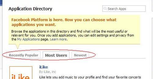 facebook apps detail