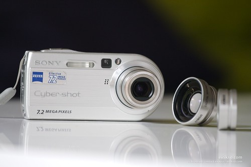 Sony Camera and Cokin add on lenses