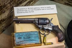 Colt Lightning Revolver (Serendigity) Tags: lincoln newmexico historic museum colt usa revolver unitedstates gun town wildwest