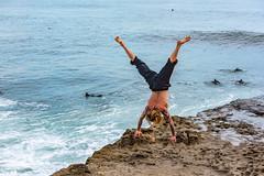 ArchitectGJA-9497.jpg (ArchitectGJA) Tags: lighthousepoint surfing californiababy wetsuit oneill jamessclar xcel lighthousefield california beach marineanimals coast cliffs streetphotography waves surfingsteamerlane santacruz steamerlane montereybay