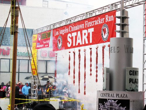 Los Angeles Chinatown Firecracker 10k Run